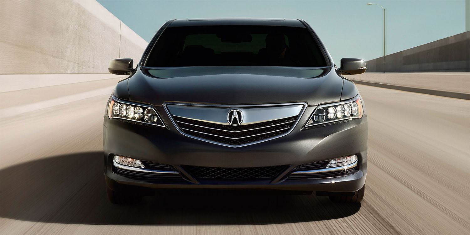 2016 Acura RLX Exterior Front Angle