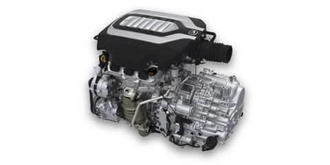 2016 Acura RLX Engine