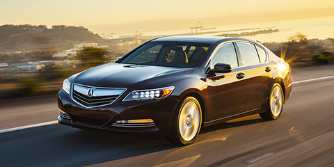 2016 Acura RLX GPS-Linked Climate Control