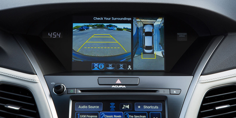 2016 Acura RLX Multi-View Rear Camera