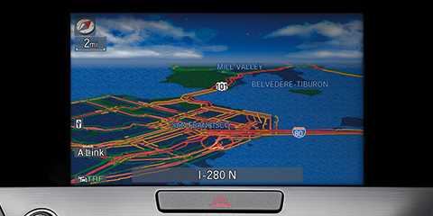 2016 Acura RLX Navigation System