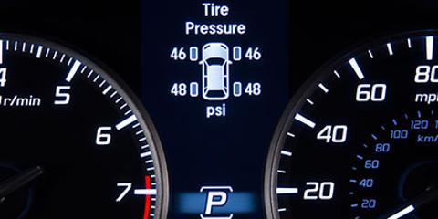 2016 Acura RLX Tire Pressure Monitoring System