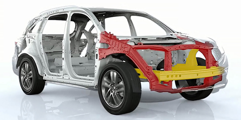 2017 Acura MDX ACE Body Structure