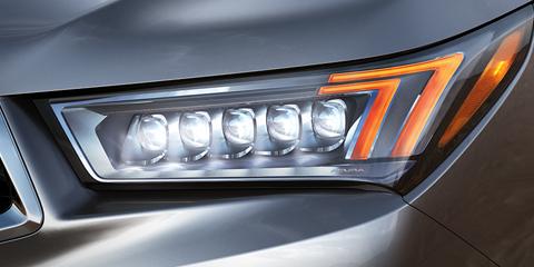 2017 Acura MDX Jewel Eye LED Headlights