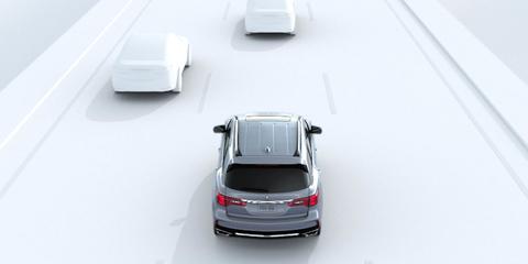 2017 Acura MDX Lane Keeping Assist