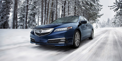 2017 Acura TLX Vehicle Stability Assist