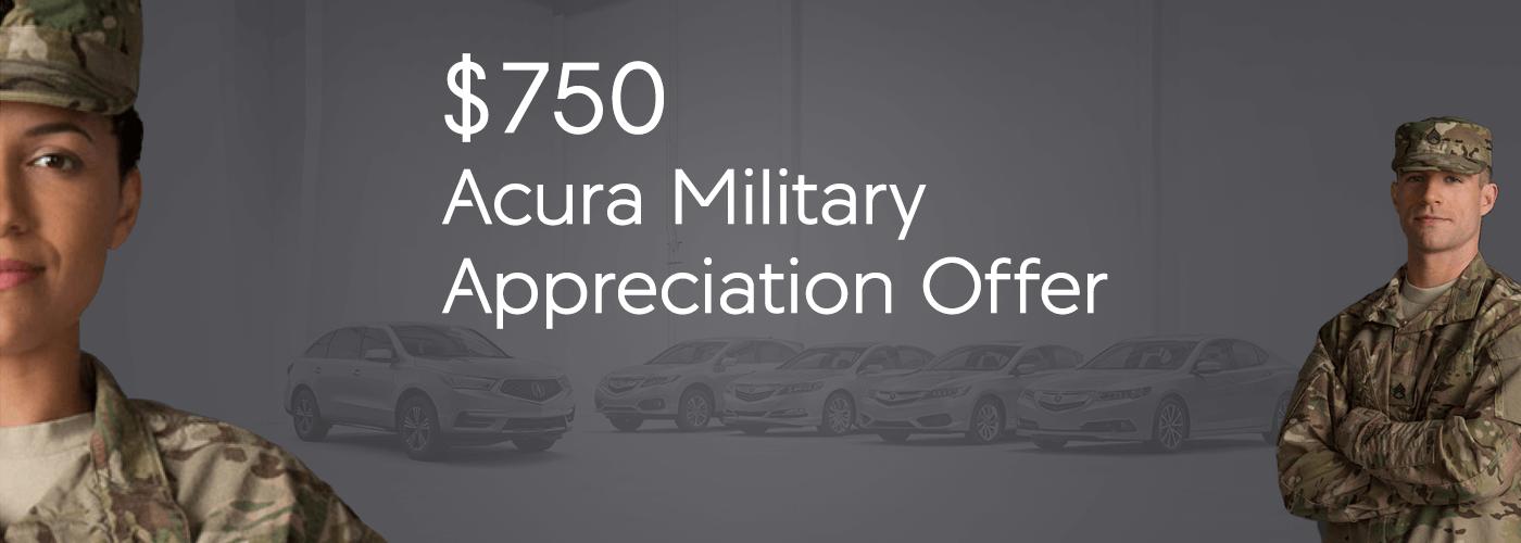 Houston Acura Military Appreciation Offer