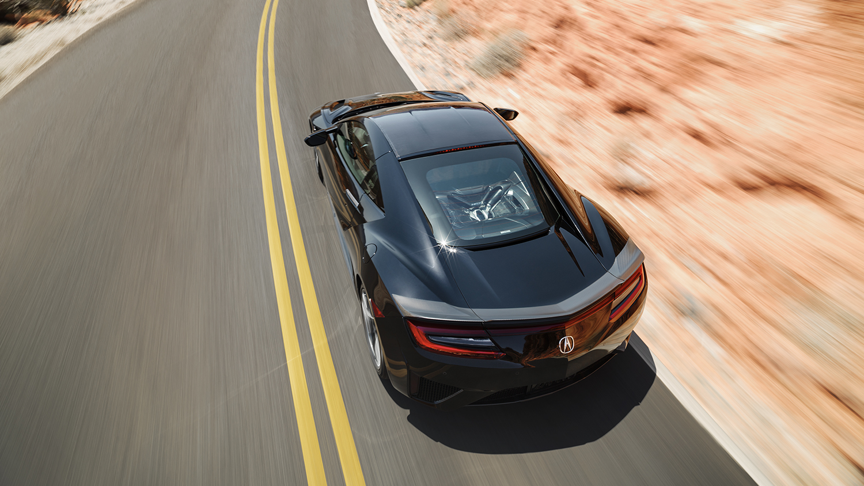 2017 Acura NSX Exterior Overhead Angle
