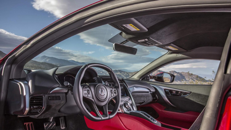2017 Acura NSX Interior Front Cabin