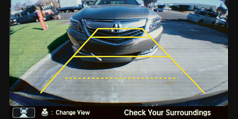 2017 Acura NSX Multi-Angle Rearview Camera