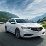 2018 Acura TLX Exterior Front Passenger Side