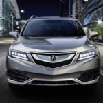 2018 Acura RDX Exterior Front Angle Night
