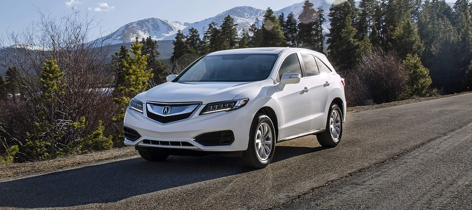 2018 Acura RDX Exterior Driver Side Mountains