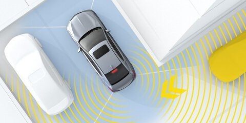 2018 Acura TLX Rear Cross Traffic Monitor