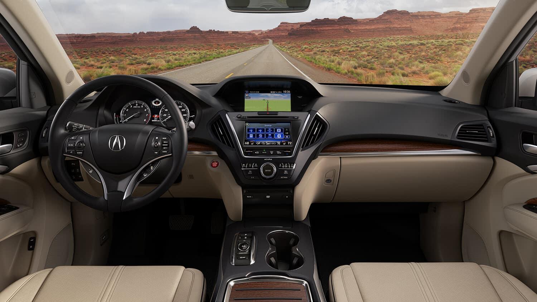 2018 Acura MDX Interior Driver POV