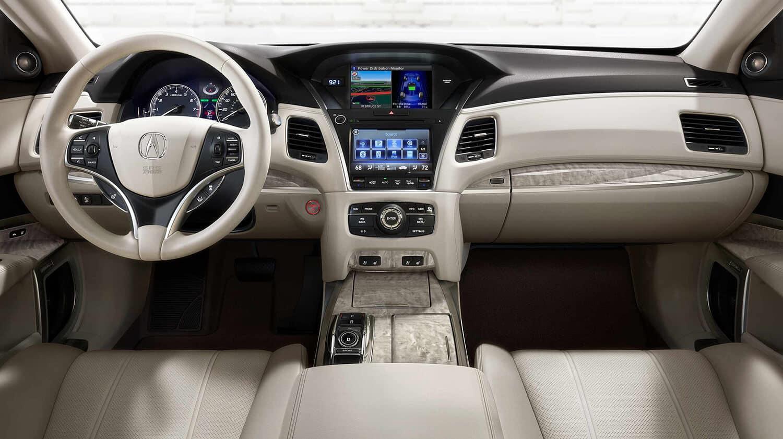 2018 Acura RLX Interior Front Cabin