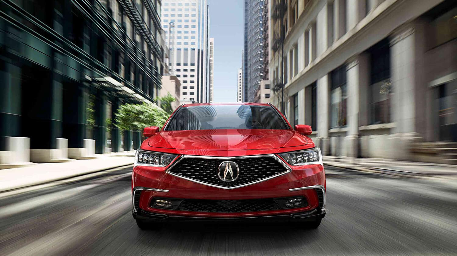2018 Acura RLX Exterior Front Grille