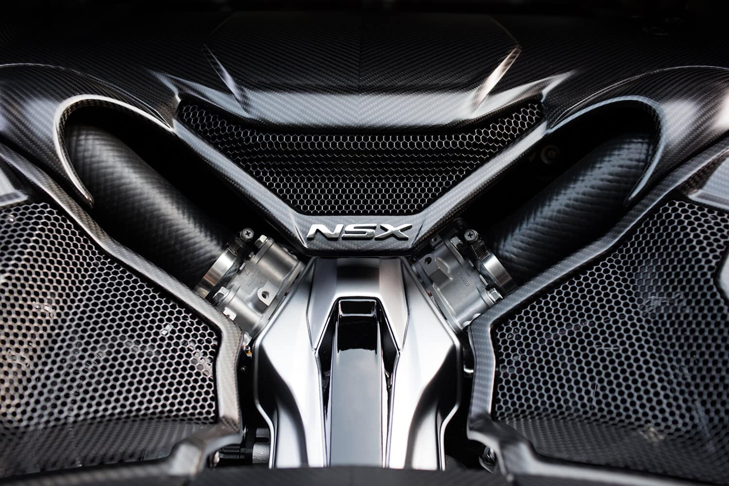2018 Acura NSX Exterior Engine Closeup