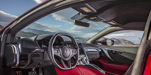 2018 Acura NSX Cockpit Visibility