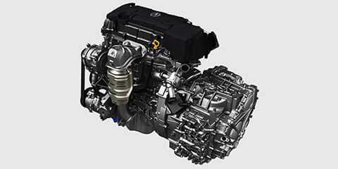 2019 Acura TLX Inline-4 P-AWS Powertrain