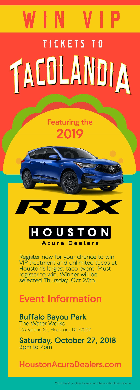 Tacolandia 2018 Houston Acura Dealers Event