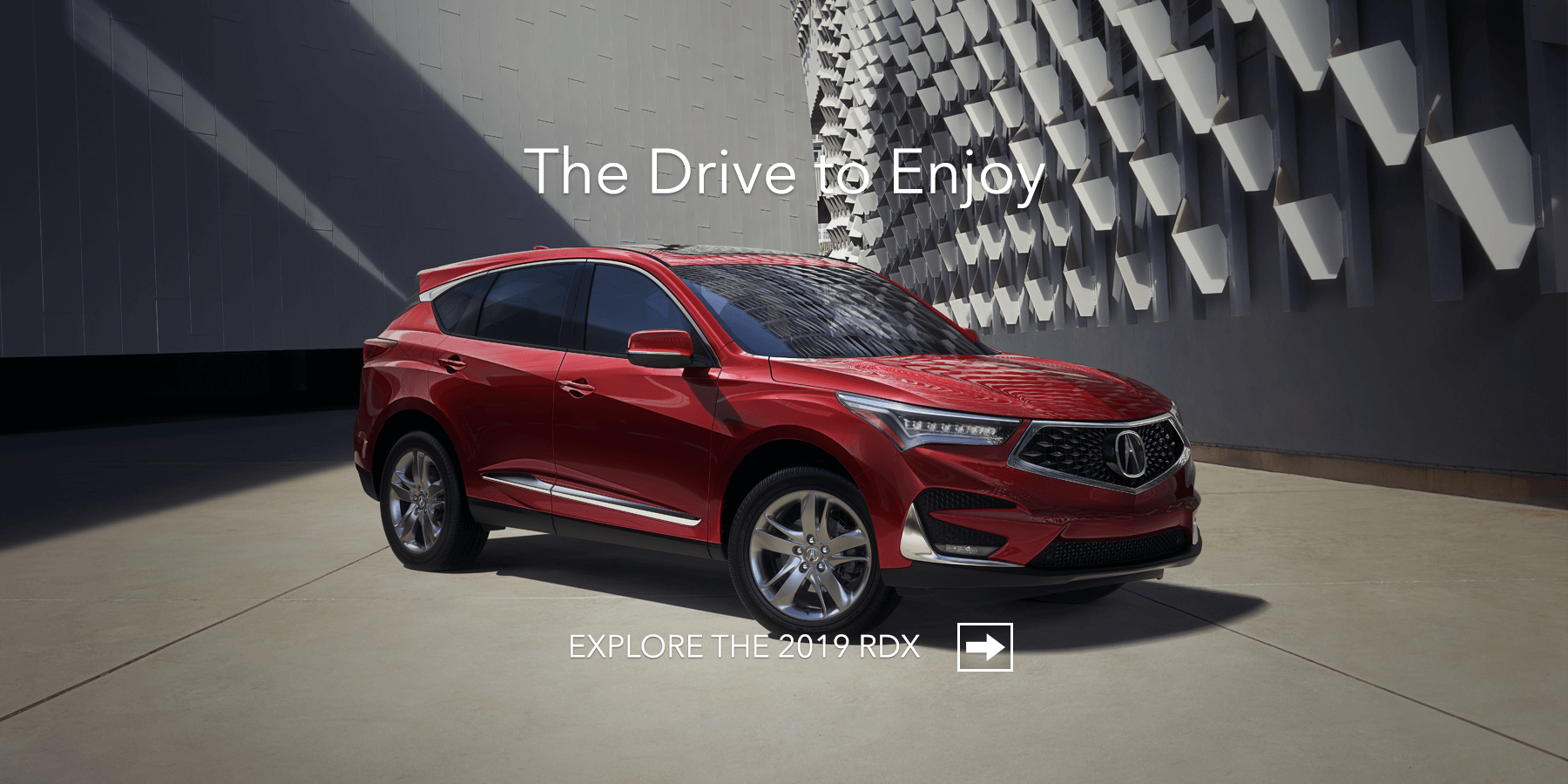 2019 Acura RDX Performance Red Pearl Front Angle HP Slide
