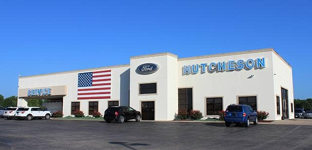 Hutcheson Ford Front of Dealership