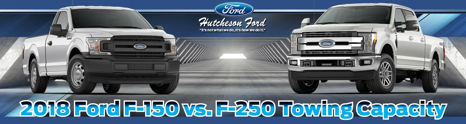 Comparison of the F-150 & F-250 Towing