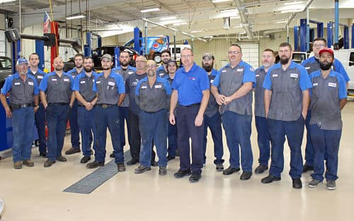 Hutcheson Ford Service Team