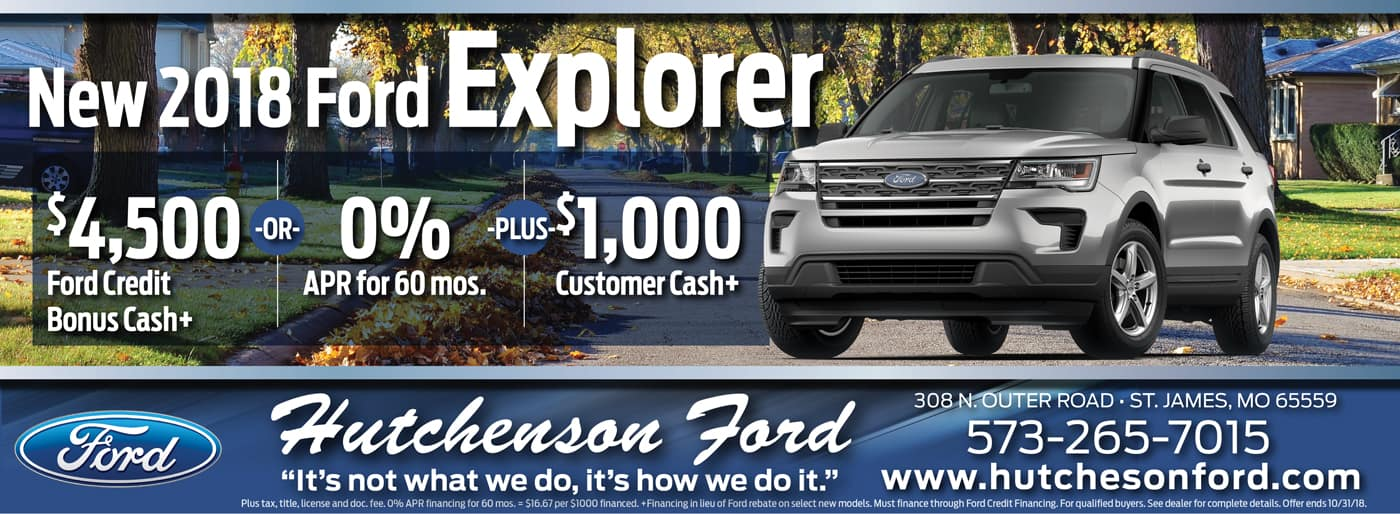 New Ford Explorer Offers