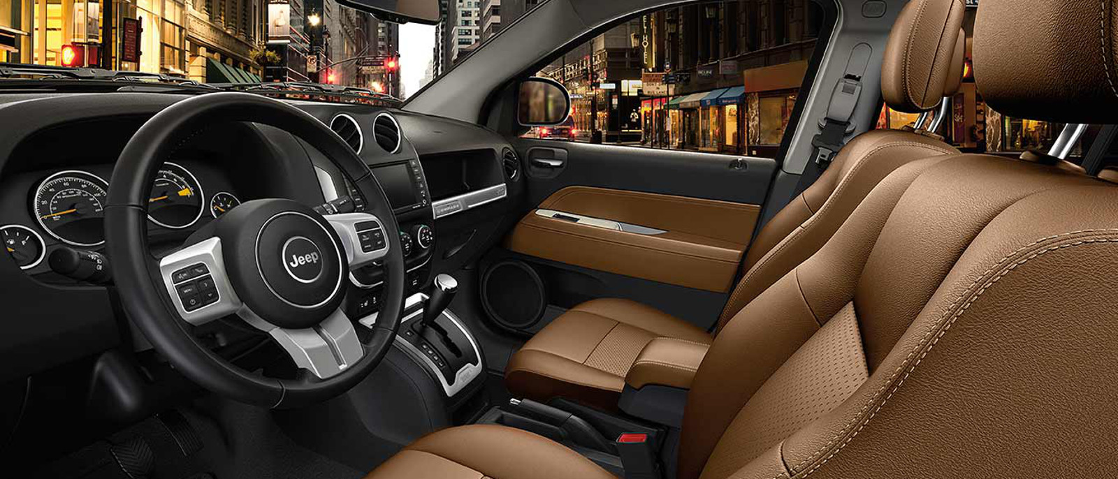 2014 jeep Compass Interior