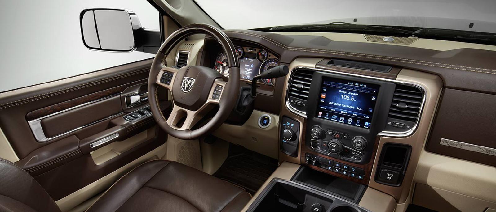 2014 Ram 3500 Interior Cockpit