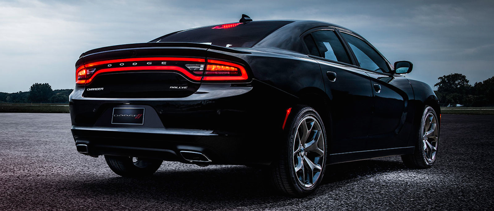 2015 Charger in black