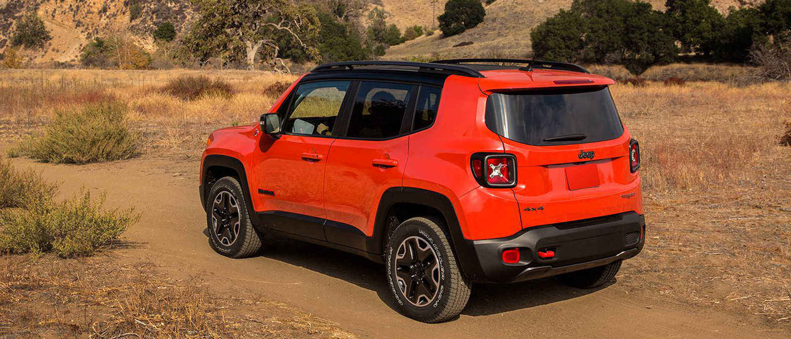 2015 Jeep Renegade rear