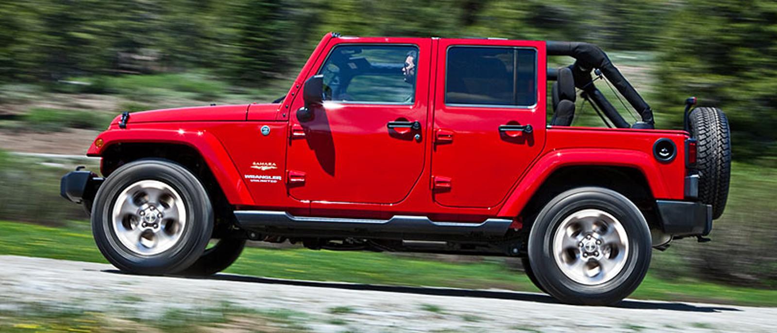 2015 Jeep wrangler side