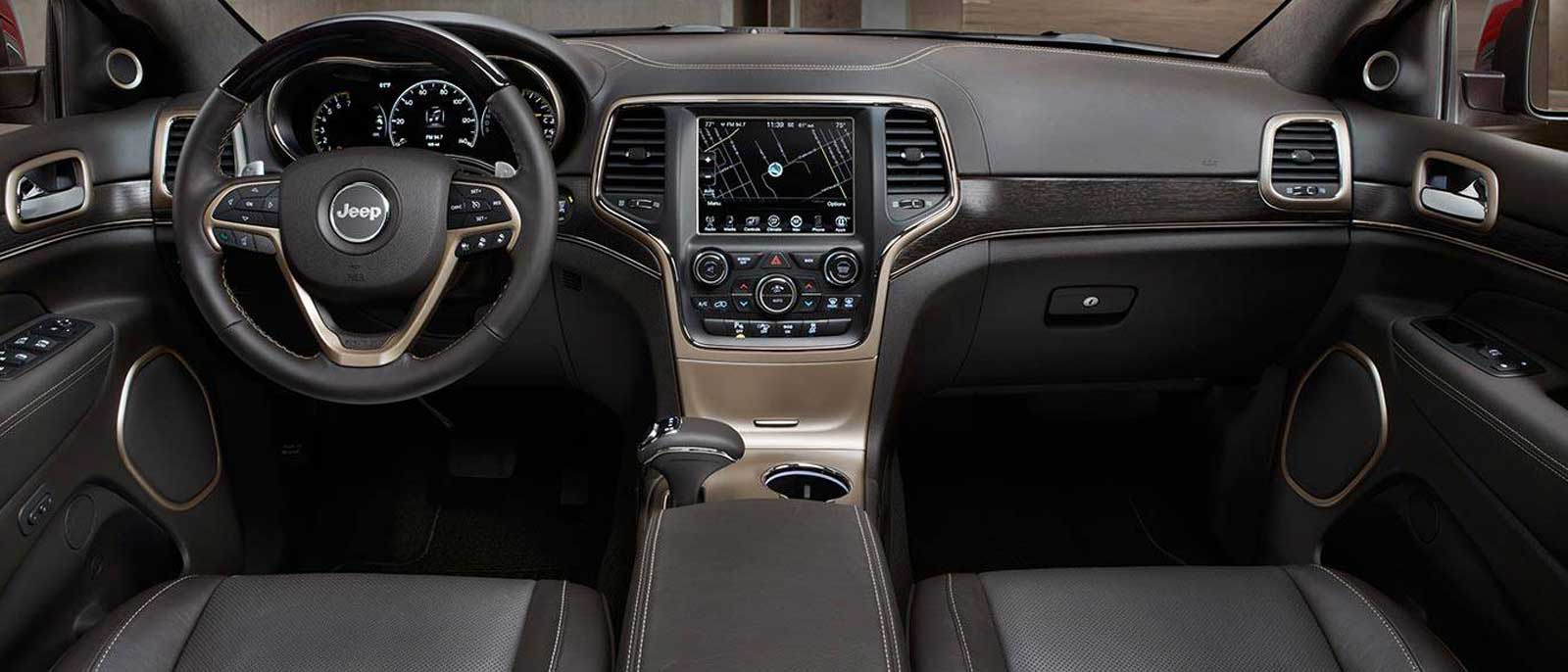 2015 Jeep Grand Cherokee Interior ...