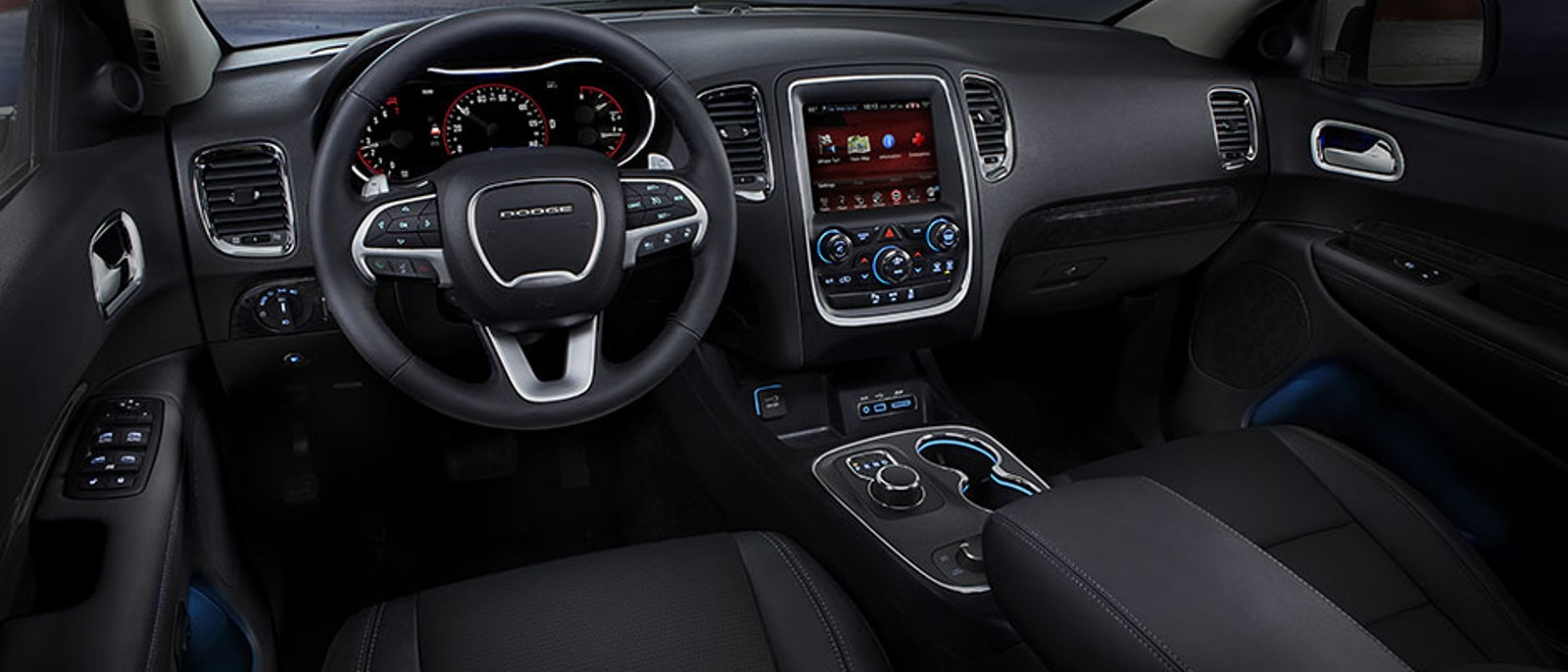 luxury leather interior interiortour your new quality of available nappa dodge high the sound engages durango from system seats en trimmed all to senses features