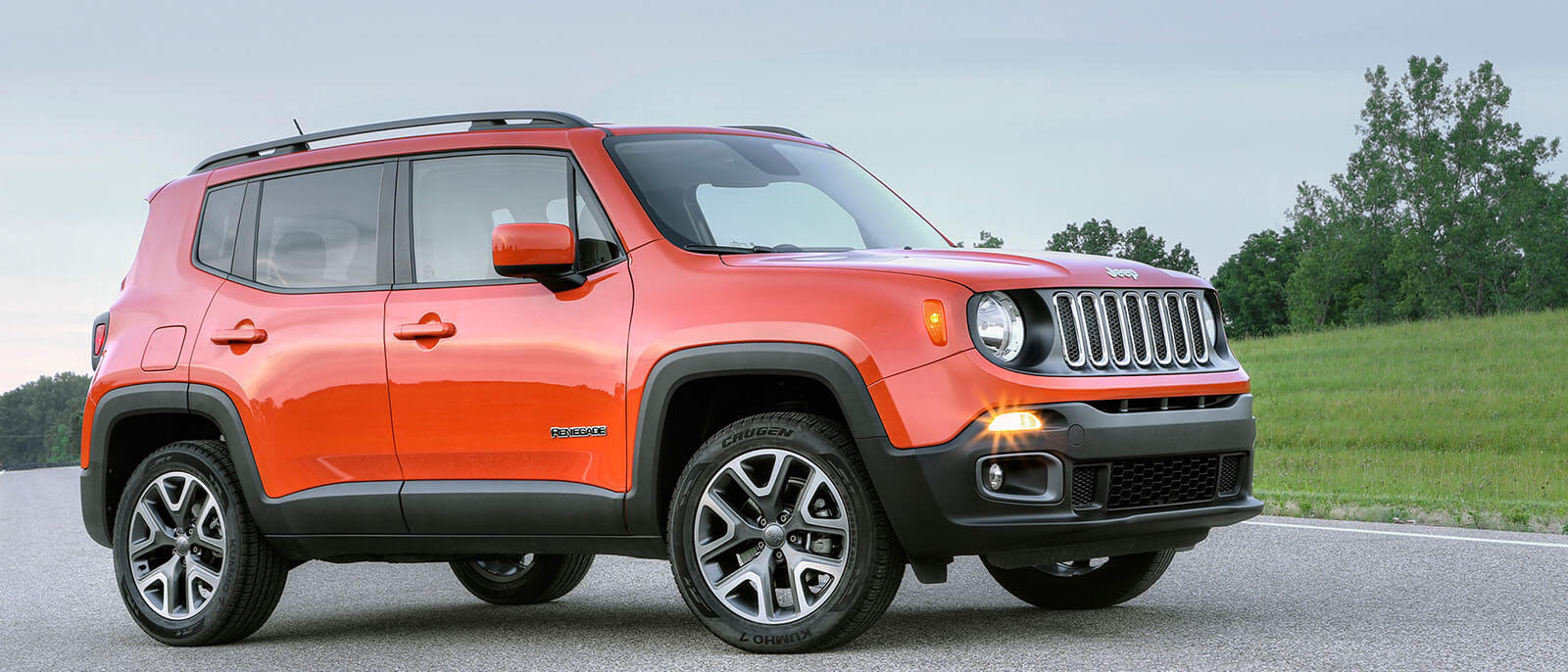 2017 Jeep Renegade Parked