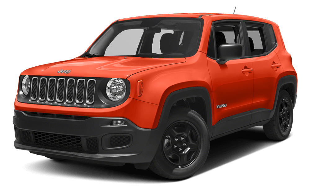 2017 Jeep Renegade Orange
