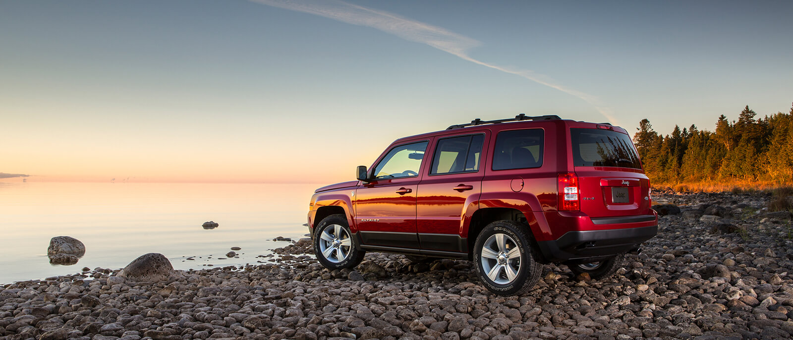 2017 Jeep Patriot Parked