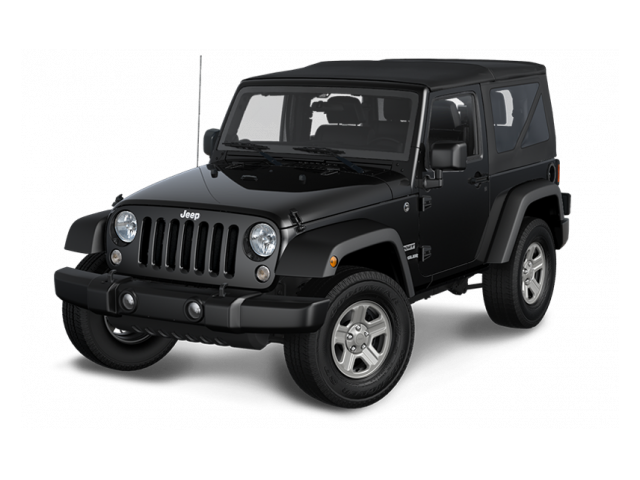 black 2016 Jeep Wrangler