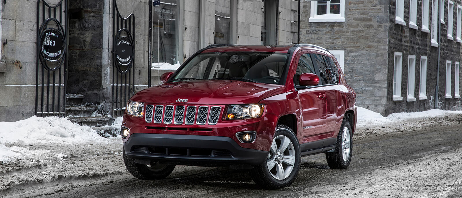 2017 Jeep Compass Red
