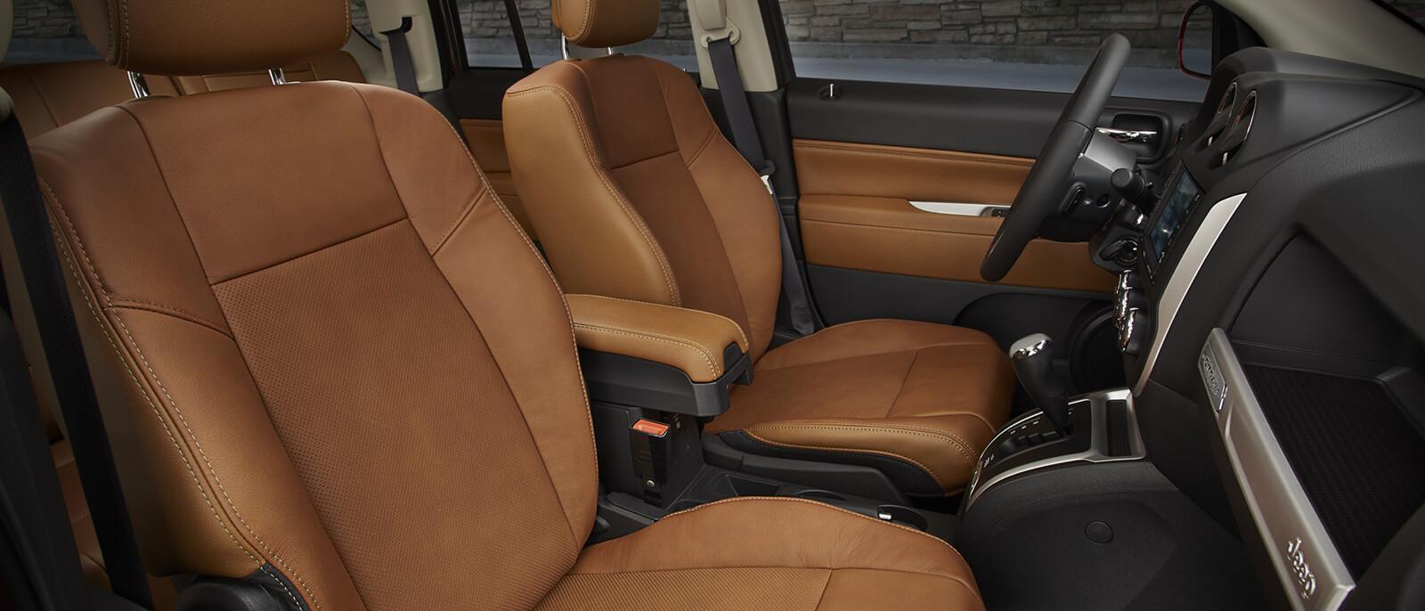 2017 Jeep Compass Interior