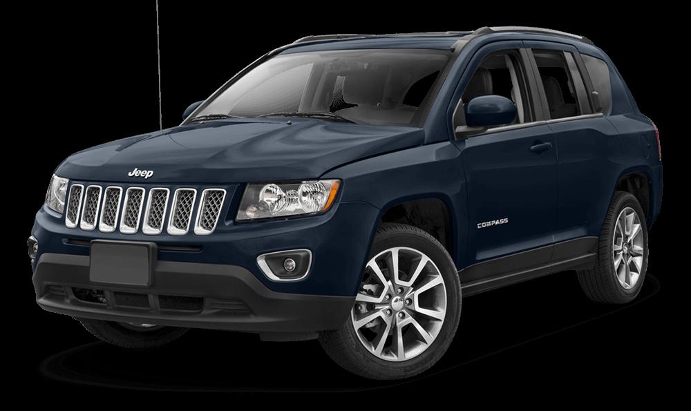2017 Jeep Compass Blue