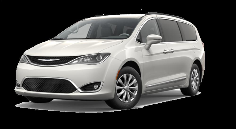 2017 Chrysler Pacifica white exterior