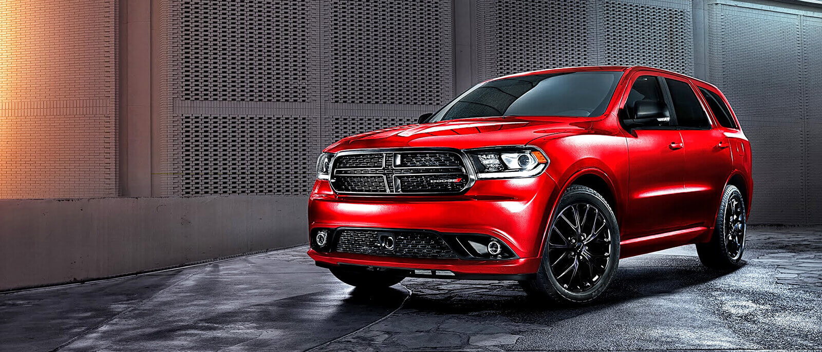 2017 Dodge Durango Red