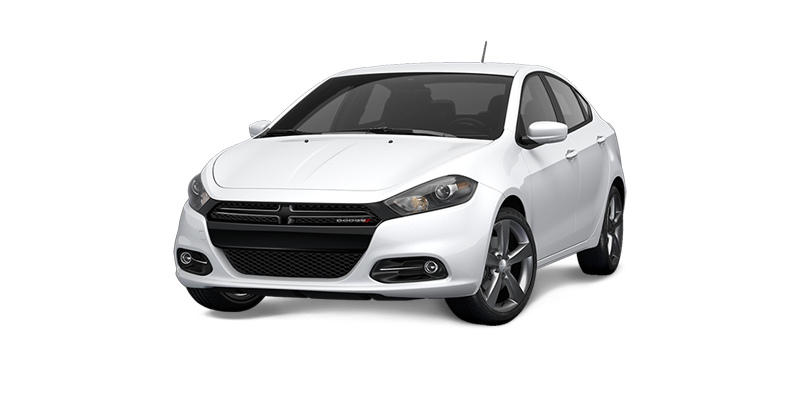2016 Dodge Dart white exterior