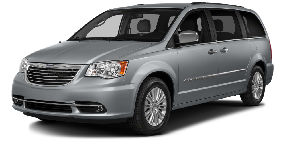 2016 Chrysler Town & Country grey exterior
