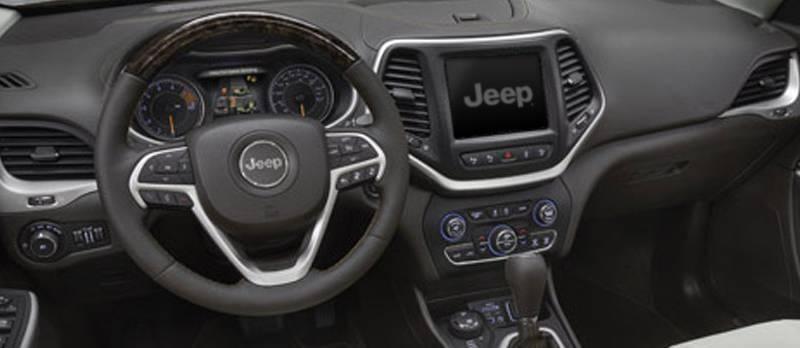 2017 Jeep Cherokee Interior Dash Gallery 5