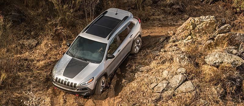 2017 Jeep Cherokee Trailhawk Exterior Gallery 3